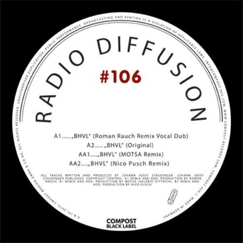 "Radio Diffusion - BHVL (MOTSA Remix) - OUT NOW on 12"" + Digital"