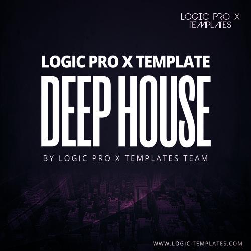 Deep House Logic Pro X Template