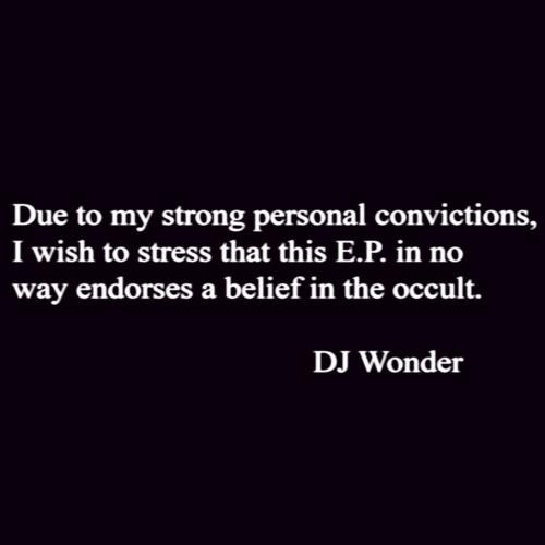 DJ Wonder - Belief In The Occult