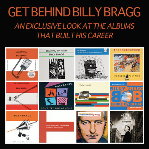 Billy Bragg Discusses 'Talking With The Taxman About Poetry'