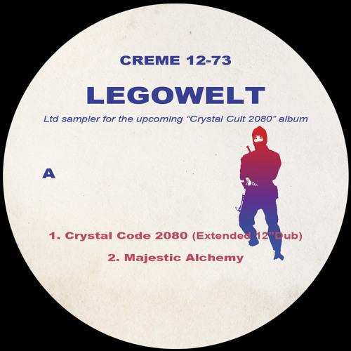 Creme 12-73 - Legowelt - Crystal Cult 2080 Album Sampler (Out November 2013)
