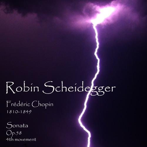 Chopin - Sonata Op.58 - 4th movement