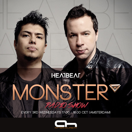 Heatbeat Monster 001 Streamed on AH.FM