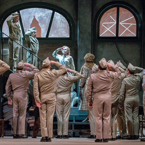 Seattle Opera FILLE: SARAH COBURN as Marie