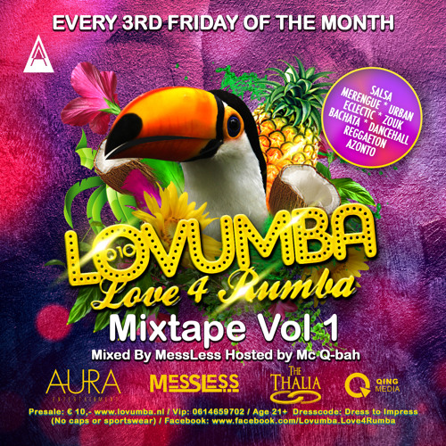 Lovumba Mixtape vol.1 - Mixed by MessLess Hosted by Mc Q-bah