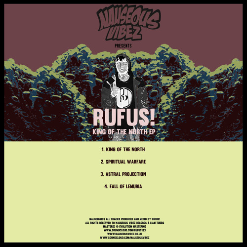 RUFUS! - Fall Of Lemuria (Out Now! - King Of The North EP - Digital - 28th October 2013)