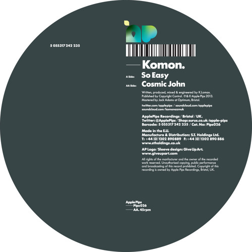 PIPS026 - Komon - So Easy - forthcoming Apple Pips(clip)
