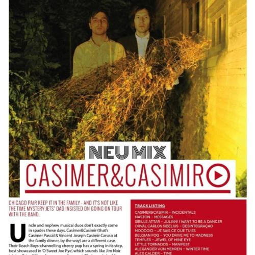 Neu Mix for DIY Magazine by Casimer&Casimir