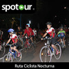 Nocturnal cycling route