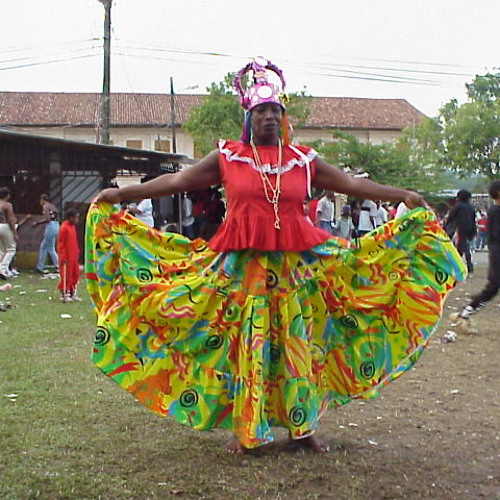 """Delia """"Estrellita"""" Barrera: Congo Queen Portobelo, Panama 2004"""