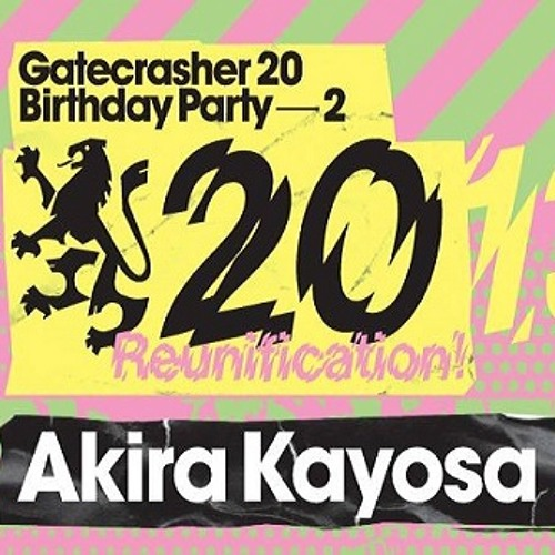 Akira Kayosa - Gatecrasher GC20 19th October 2013 [8-9PM Main Arena]