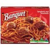 Spaghetti with Meatballs from the Frozen Food Section