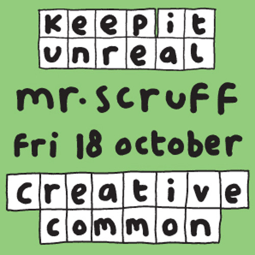 Mr Scruff Creative Common DJ Set, Bristol, Friday 18th October 2013
