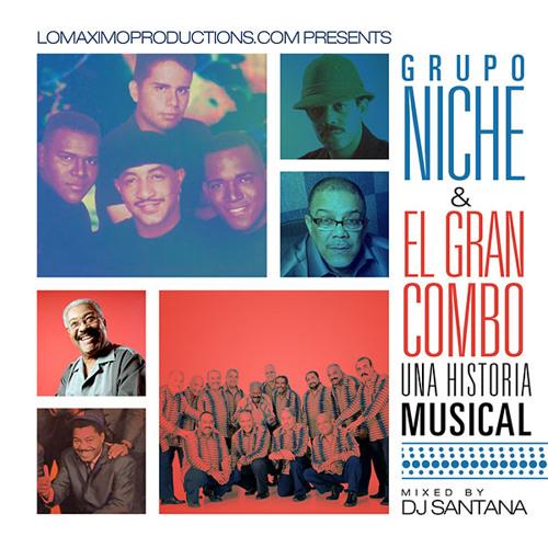 Grupo Niche Vs El Gran Combo - Una Historia Musical Salsa Mixtape - LMP - 2013