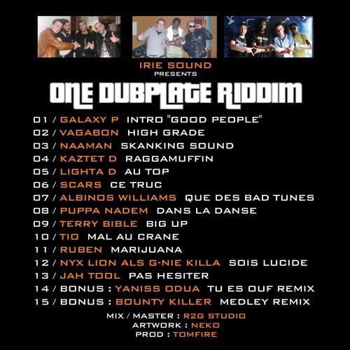 04 - KAZTET D - RAGGAMUFFIN - ONE DUBPLATE RIDDIM - IRIE SOUND