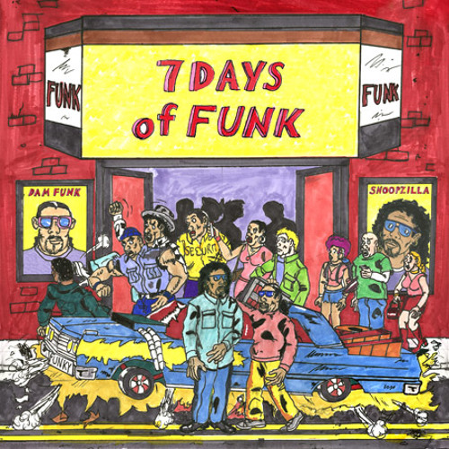 Dam Funk & Snoopzilla - 7 Days of Funk - Faden Away