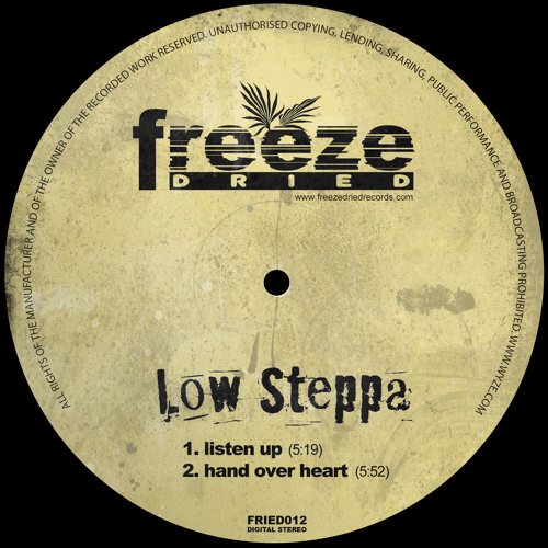 Low Steppa - Hand Over Heart