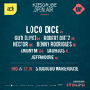 Benny Rodrigues @ Loco Dice & Friends, Studio 80 Warehouse, Amsterdam (17-10-2013)