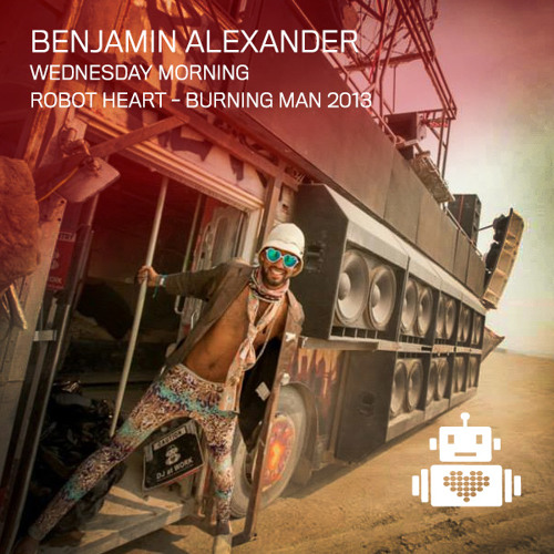 Benjamin Alexander Robot Heart Burning Man 2013
