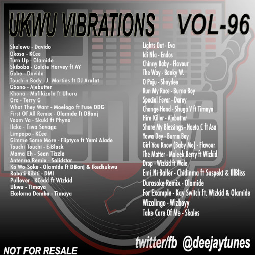 Vol 96 Ukwu Vibrations Oct 2013 - The Workout Mix