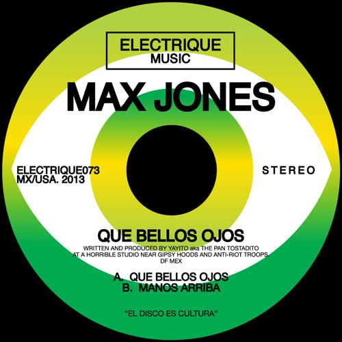 Max Jones - Manos Arriba (Original Mix)