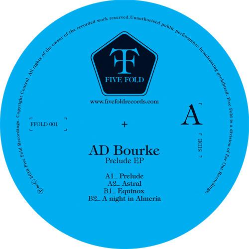 AD BOURKE - Prelude (Five Fold Records - FFOLD 001 - Nov. 25)