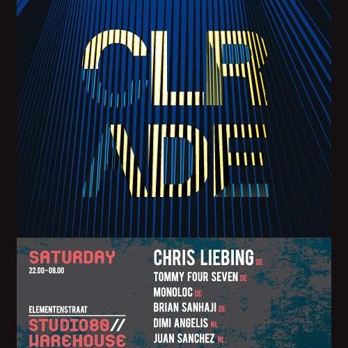 Dimi Angélis at CLR * Studio 80 Warehouse Party - ADE 19-10-13