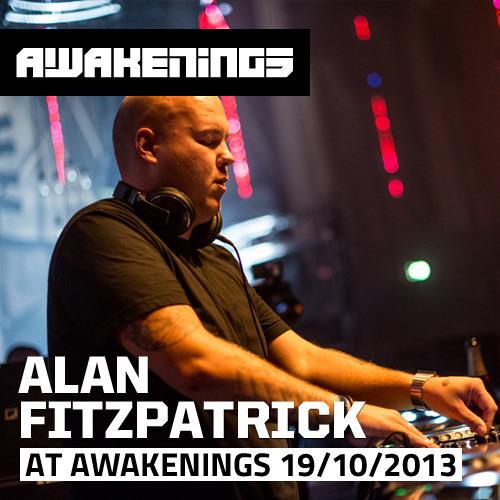 Alan Fritzpatrick at Awakenings ADE Drumcode 19/10/2013