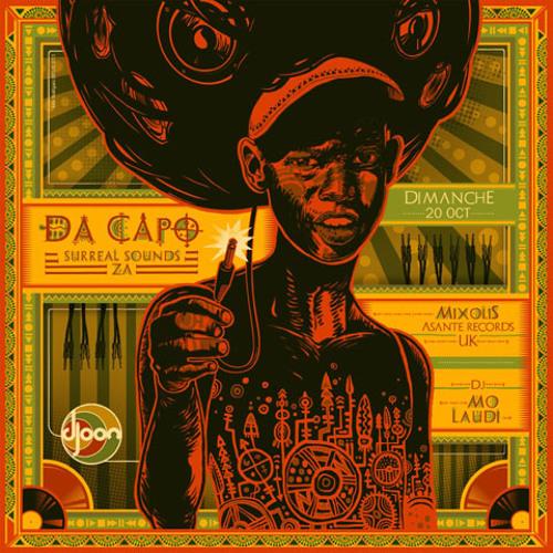 Da Capo @ African Roots, Djoon, Sunday October 20th, 2013
