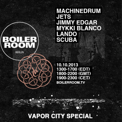 Jimmy edgar 60 min boiler room Berlin mix