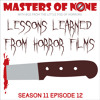 MoN 11.12: Lessons Learned from Horror Films