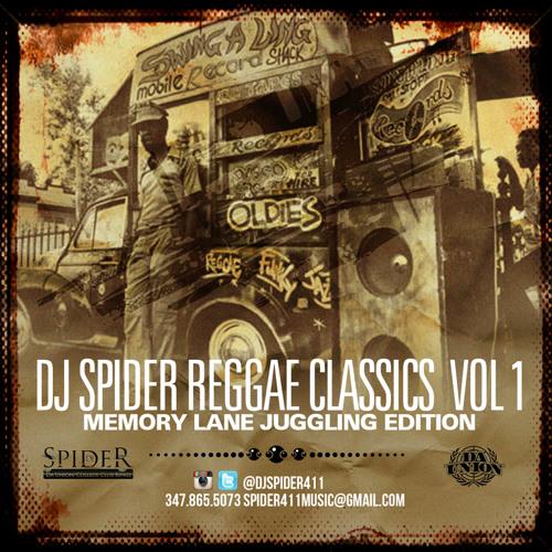 DJ SPIDER REGGAE CLASSICS  VOL 1