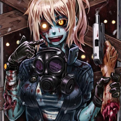 hentay monster красная маска
