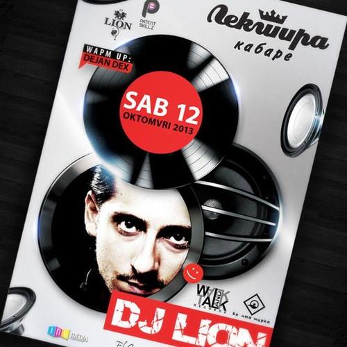 Dj Lion Live @ Club Lektira, Macedonia, Bitola 12/10/2013
