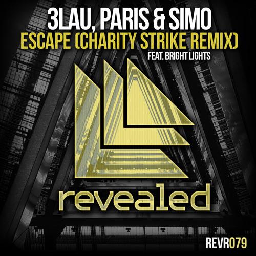 3LAU, Paris & Simo feat. Bright Lights - Escape (Charity Strike Remix) OUT NOW