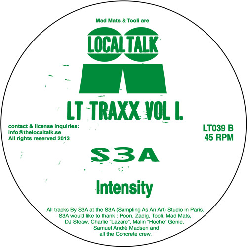 S3A - Intensitity (LT039, Side B) (Snippet)