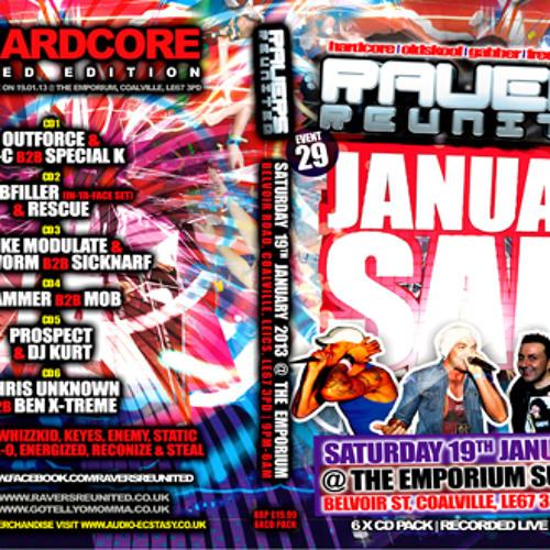 Sicknarf & Big Worm @ Ravers Reunited 29 - 19/01/13 - (mini teaser) - 6 X CD Pack Out Now !!!