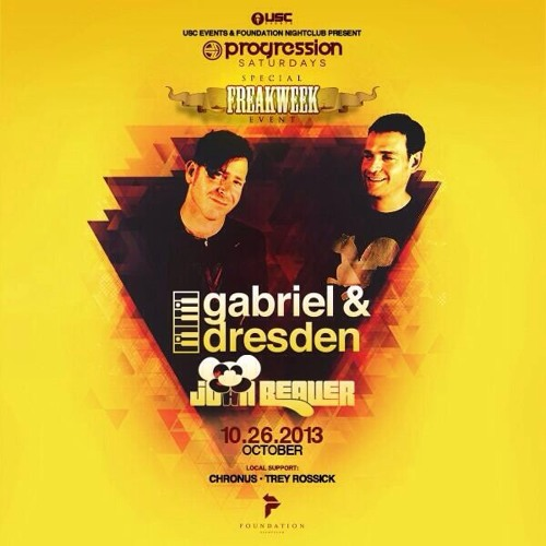 Gabriel & Dresden live at Foundation Seattle 10-26-13