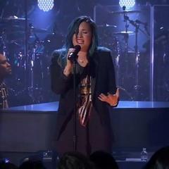 Demi Lovato - Stay  (Rihanna cover) @ 2vLive
