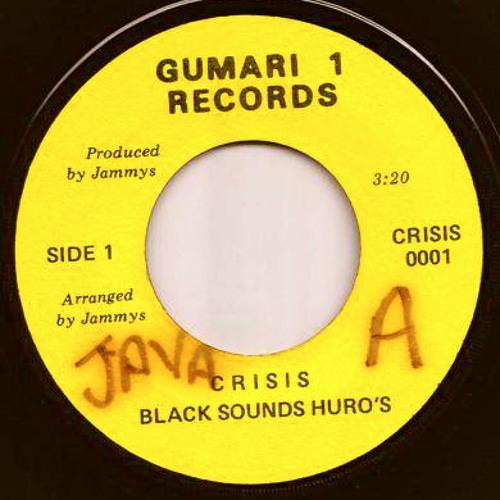 "Black Sounds Uhro (Black Uhuru) ""Crisis"" w/version"