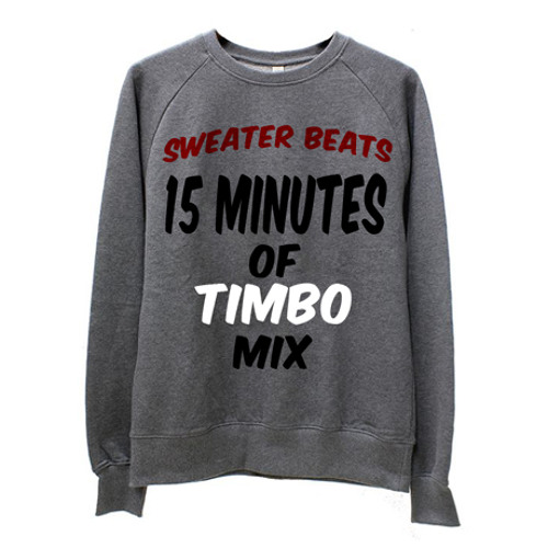 Sweater Beats - 15 Minutes Of Timbo Mix