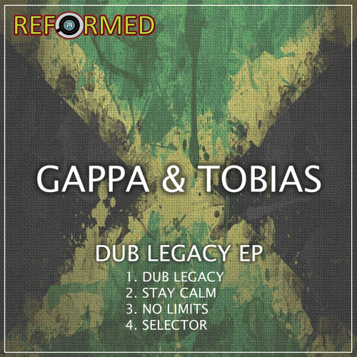 GAPPA  - TOBIAS  -  NO LIMITS  -  [OUT NOW! ON REFORMED RECORDINGS] RR0020
