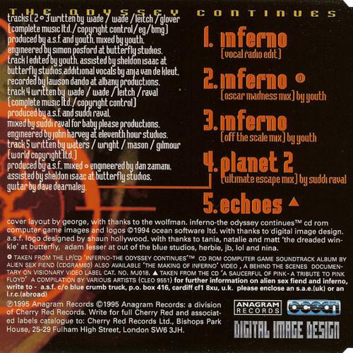 Alien Sex Fiend Vs Suddi Raval - Inferno -  Remix