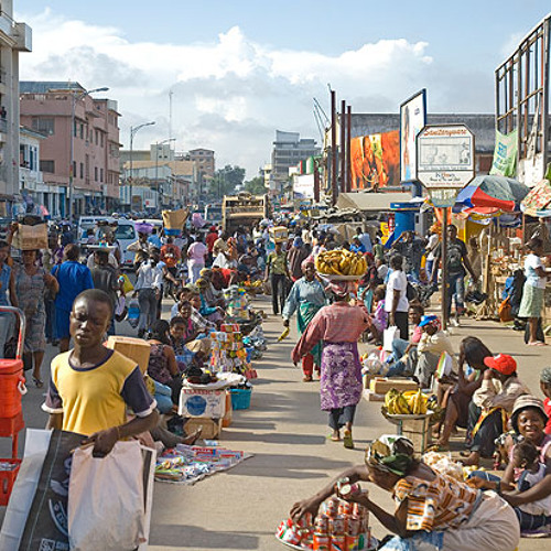 Accra 2013 Volunteer Feature - The City That Never Sleeps (Garbage Truck Song Pun Intended)