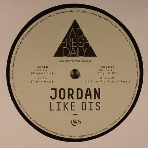 "[MFD015] Jordan - Like Dis EP incl. De Sluwe Vos & T-Bone Remixes [12"" / Digi]"