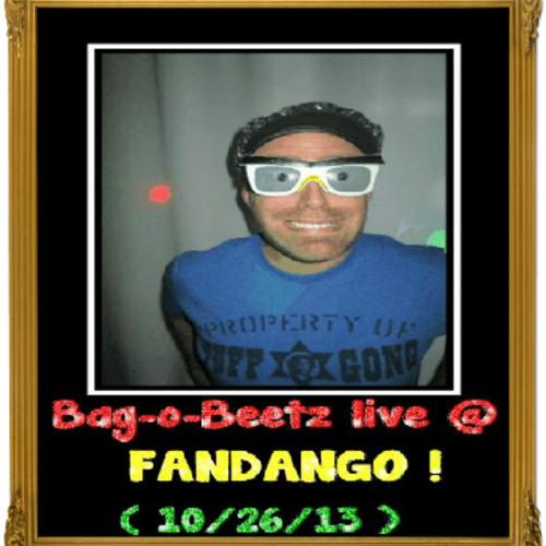 Bag-o-Beetz live @ Fandango ! ( Secret skies- the universe within ) 10/26/2013
