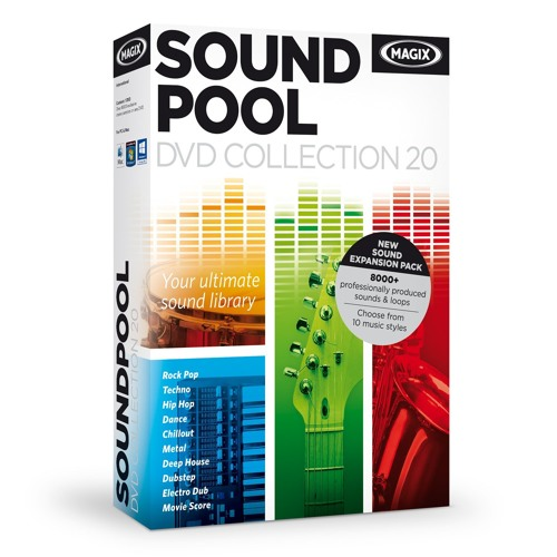 Soundpool dvd collection 20 demo chill out by magix official