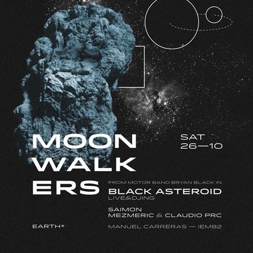 Black Asteroid @ MOON WALKERS @ MOOD Dance Dept 26.10.2103