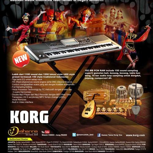 Style Gambang Kromong Pa900 by KorgPaIndo   Korg Pa Indo