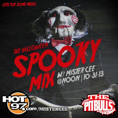 DJ Mister Cee - The Halloween Spooky Mix